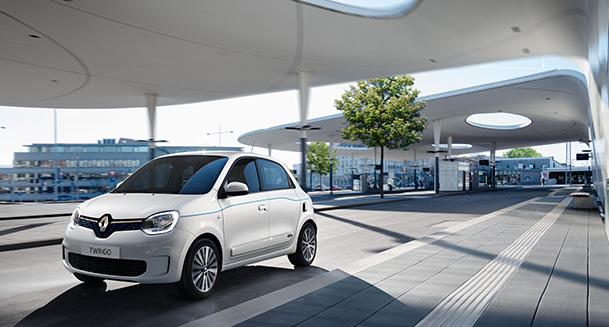 Voiture électrique Renault Twingo